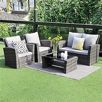 Wisteria Lane 5 Piece Outdoor Patio Furniture Sets