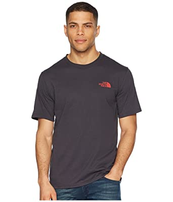 6aceadc9c Amazon.com: The North Face Bottle Source Red Box Tee Weathered Black ...