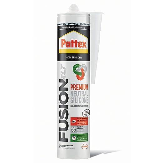 Silicona Fusion XLT antimoho Pattex 300 ML sellador para alimentos ...