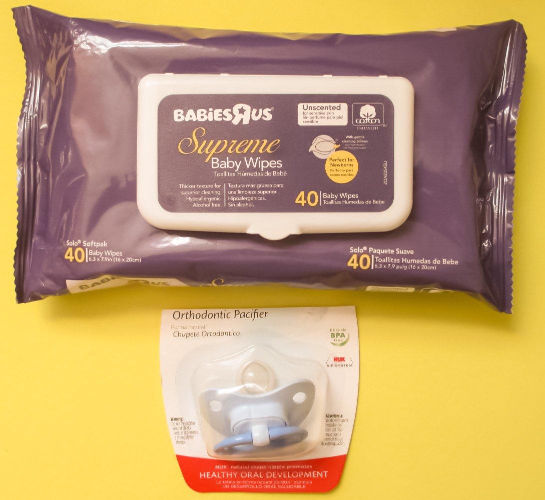 Amazon.com : BPA Free Natural Shape Orthodontic Pacifier ...