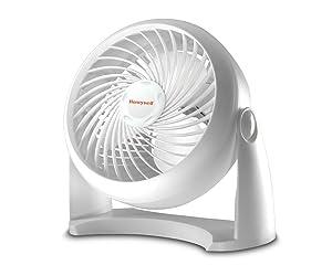 Honeywell HT-904 Tabletop Air-Circulator Fan, White, 11 inch