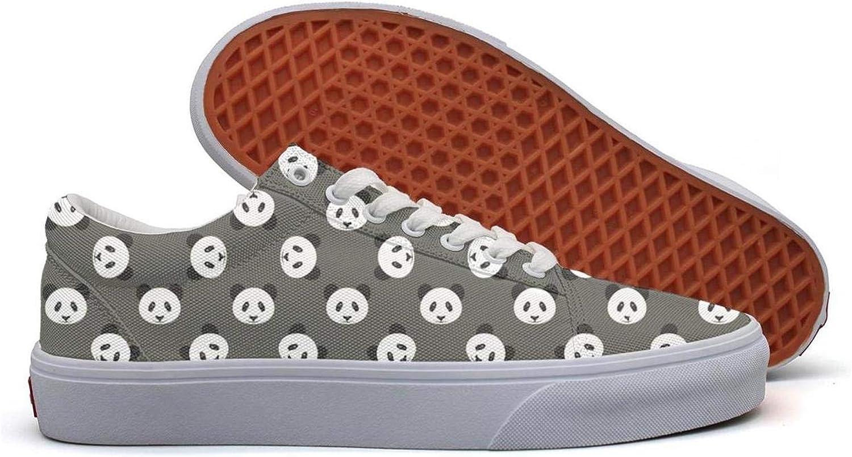 St Patricks Day Shamrocks Low Top Cute Retro Sneakers for Mens