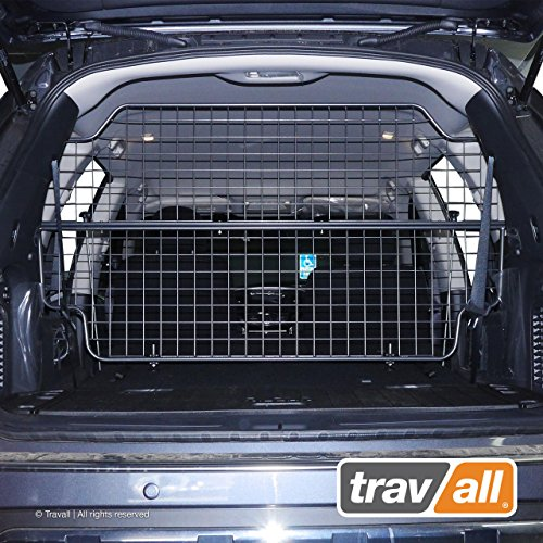 Travall Guard Compatible with Nissan Pathfinder (2012-Current) TDG1448 - Rattle-Free Luggage and Pet Barrier