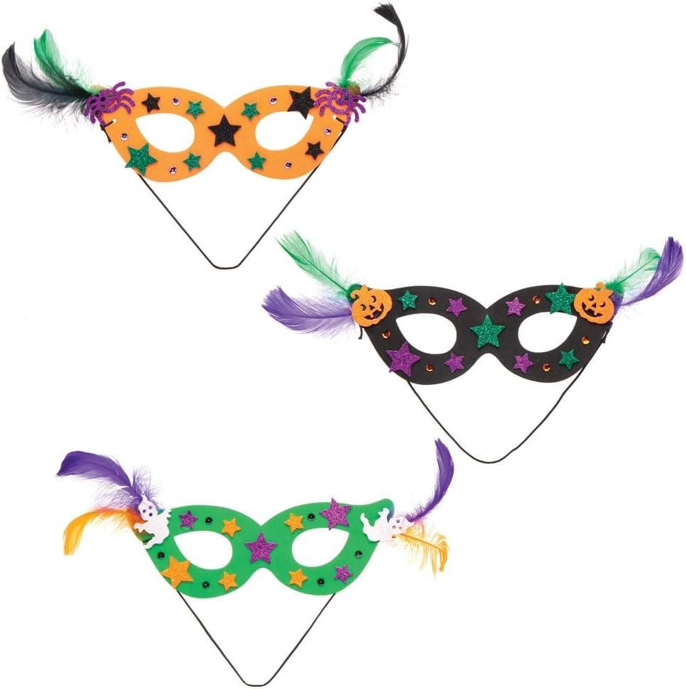 Paquet de 8 Baker Kits de Masque pour Halloween /à Assortir