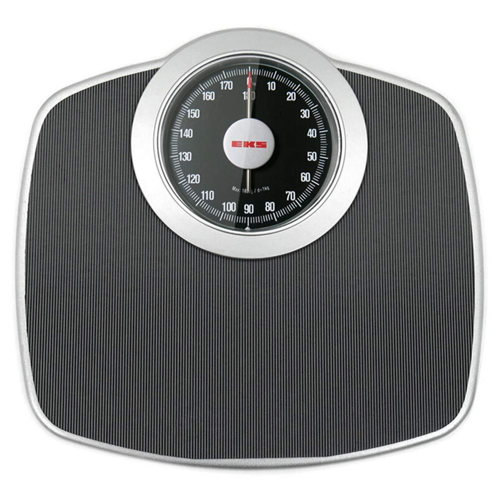 GaoTP Professional Analog Mechanical Scale, Non-Digital Bathroom Dial, No Button/No Battery, Health Measurement, 180kg (400 Lbs)