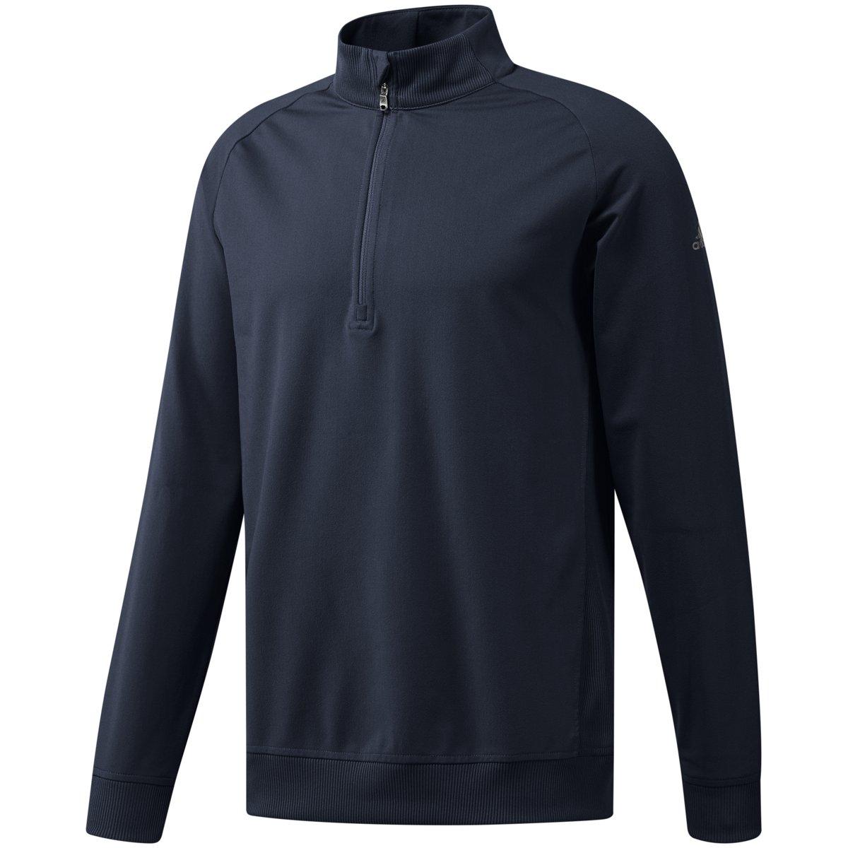 adidas Golf Men's Classic Club 1/4 Zip Pullover Jacket, Collegiate Navy, Medium