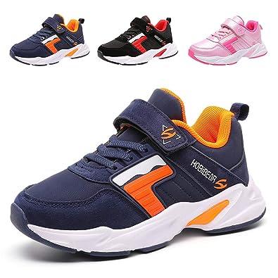 aa870b5f618 LEXIAODI Kids Sneakers Girls Running Shoes Boys Lightweight Athletic Sport  Shoes Tennis Gym Blue