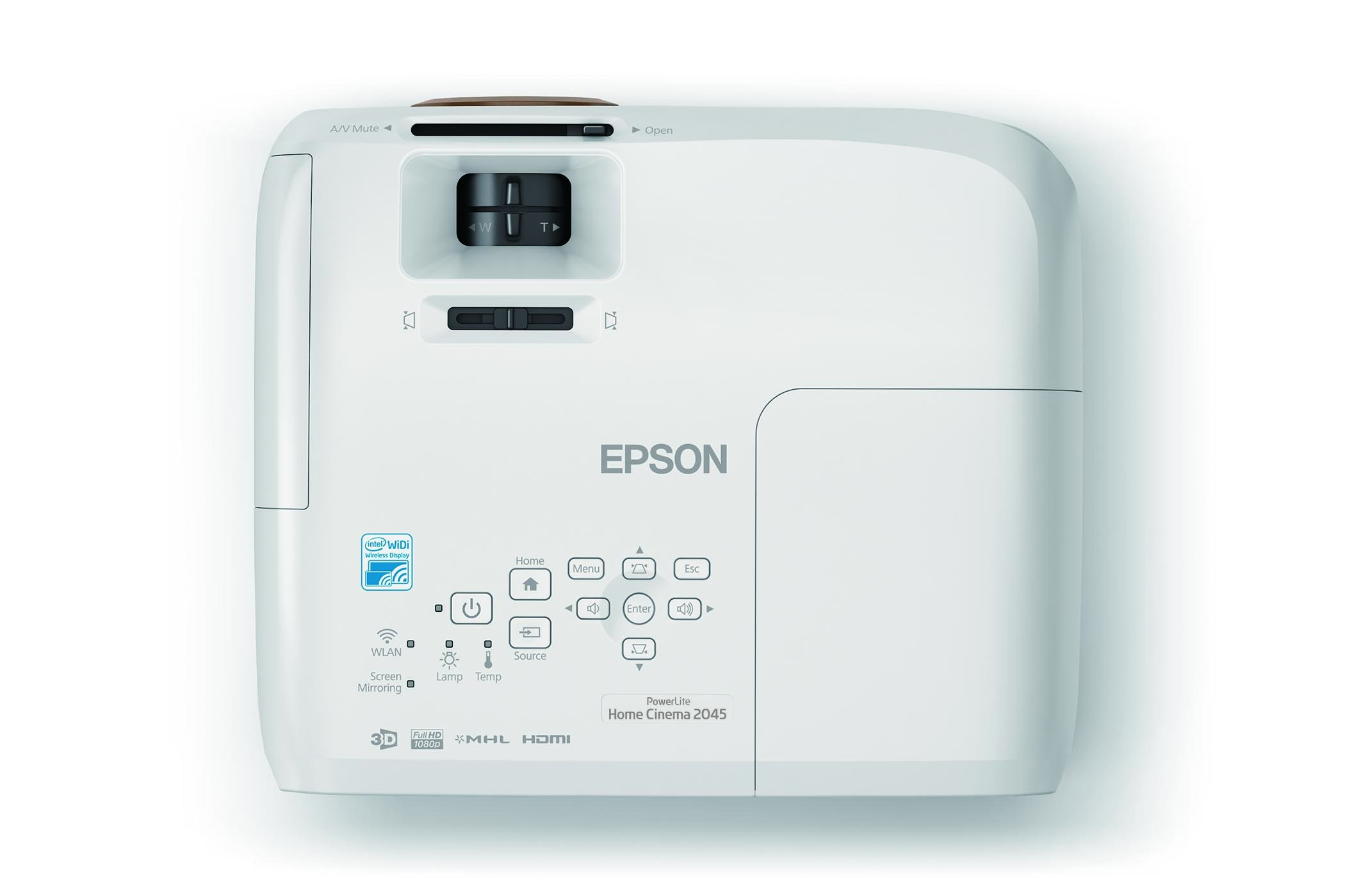 Epson Home Cinema 2045 1080p 3D Miracast 3LCD Home Theater Projector by Epson (Image #5)