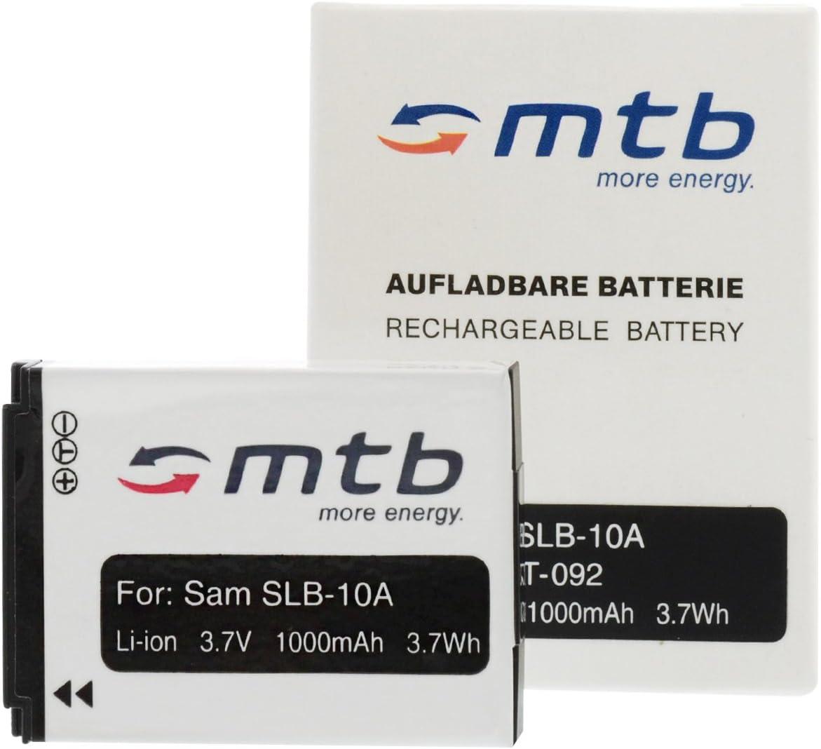 2 Baterías SLB-10A para Samsung ES50, ES55./JVC ADIXXION/Toshiba X ...
