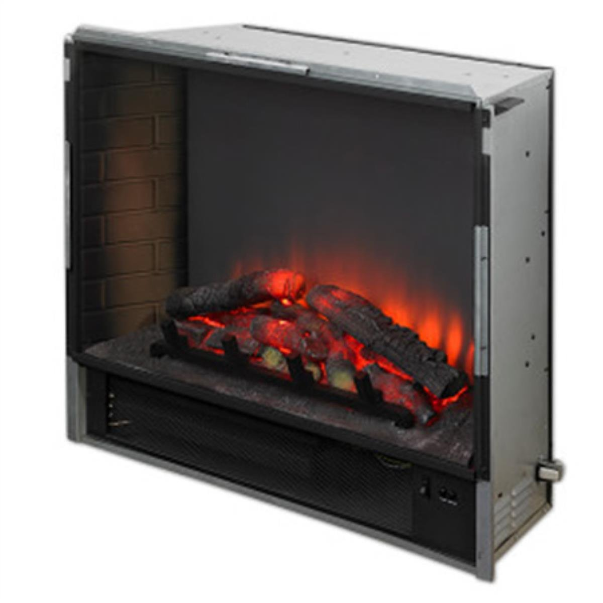 amazon com gallery led built in electric fireplace home u0026 kitchen