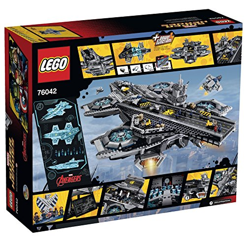 LEGO Marvel Super Heroes 76042 The SHIELD Helicarrier