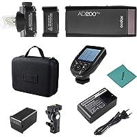Godox AD200Pro Pocket Flash Portátil inalámbrico TTL Flash con Cabeza de Flash Intercambiable GN52 GN60 1 / 8000s HSS…