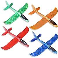 ZoneYan Planeador de Espuma, Avión de Lanzamiento, Lanzar Manual Planeador, Mano Lanzamiento Glider Aviones, Juguete…
