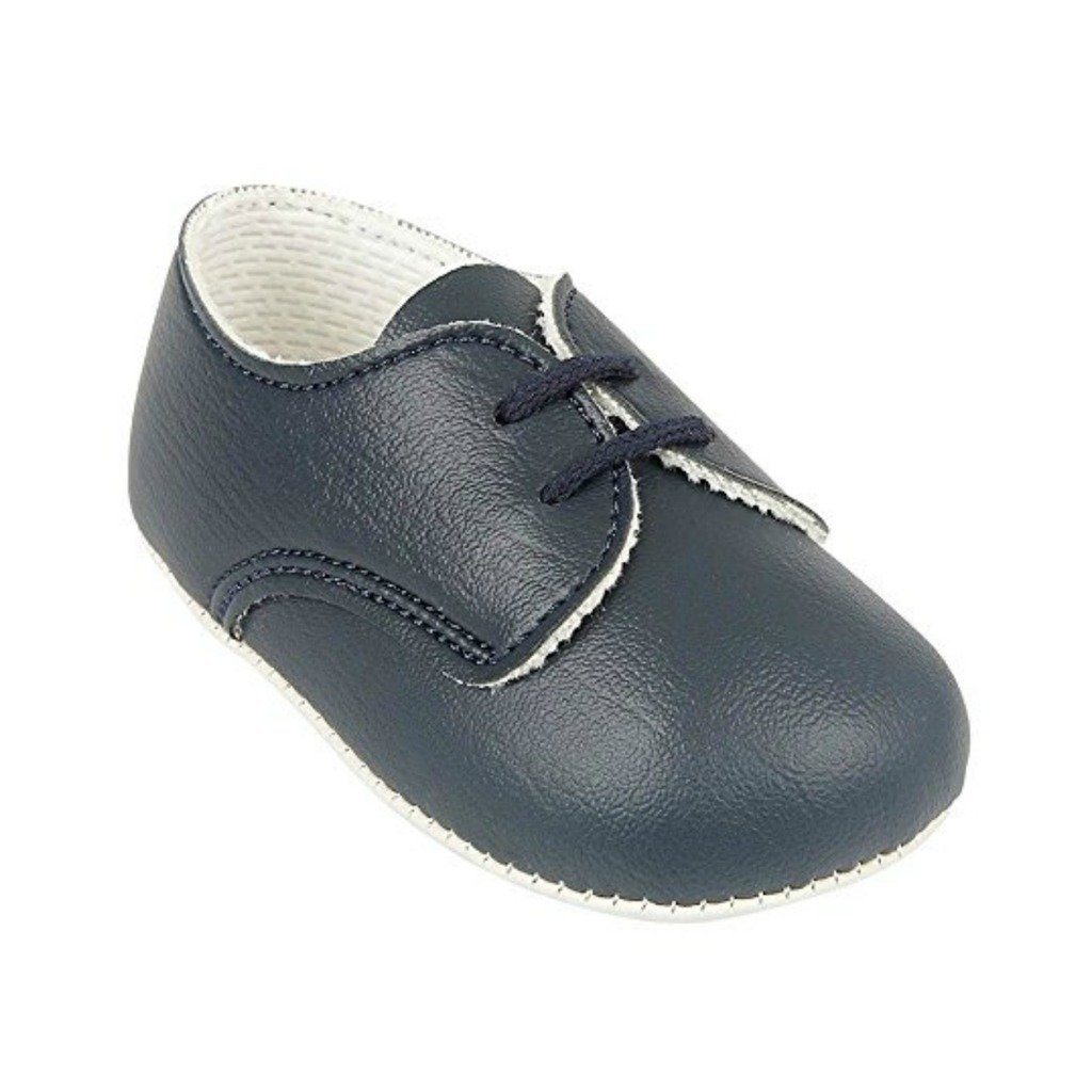 Baby and toddler boys pram shoes from birth to 18 months Various colours Baypod