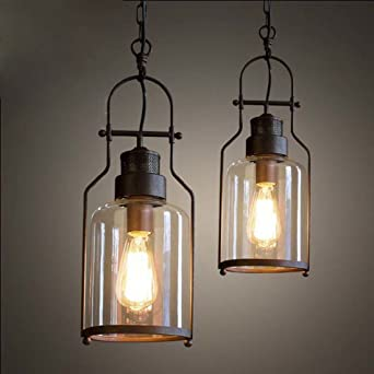 Deckenlampe Glas Vintage