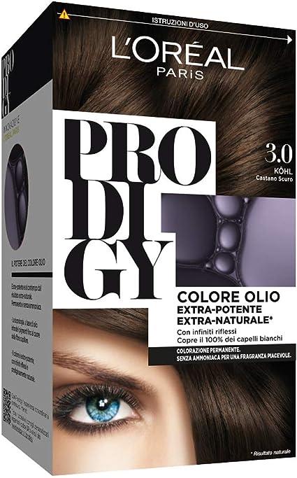 L Oréal Paris, Prodigy - Coloración permanente 3.0 Kohl ...