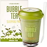Etude House Bubble Tea Sleeping Pack 100g (Green Tea)