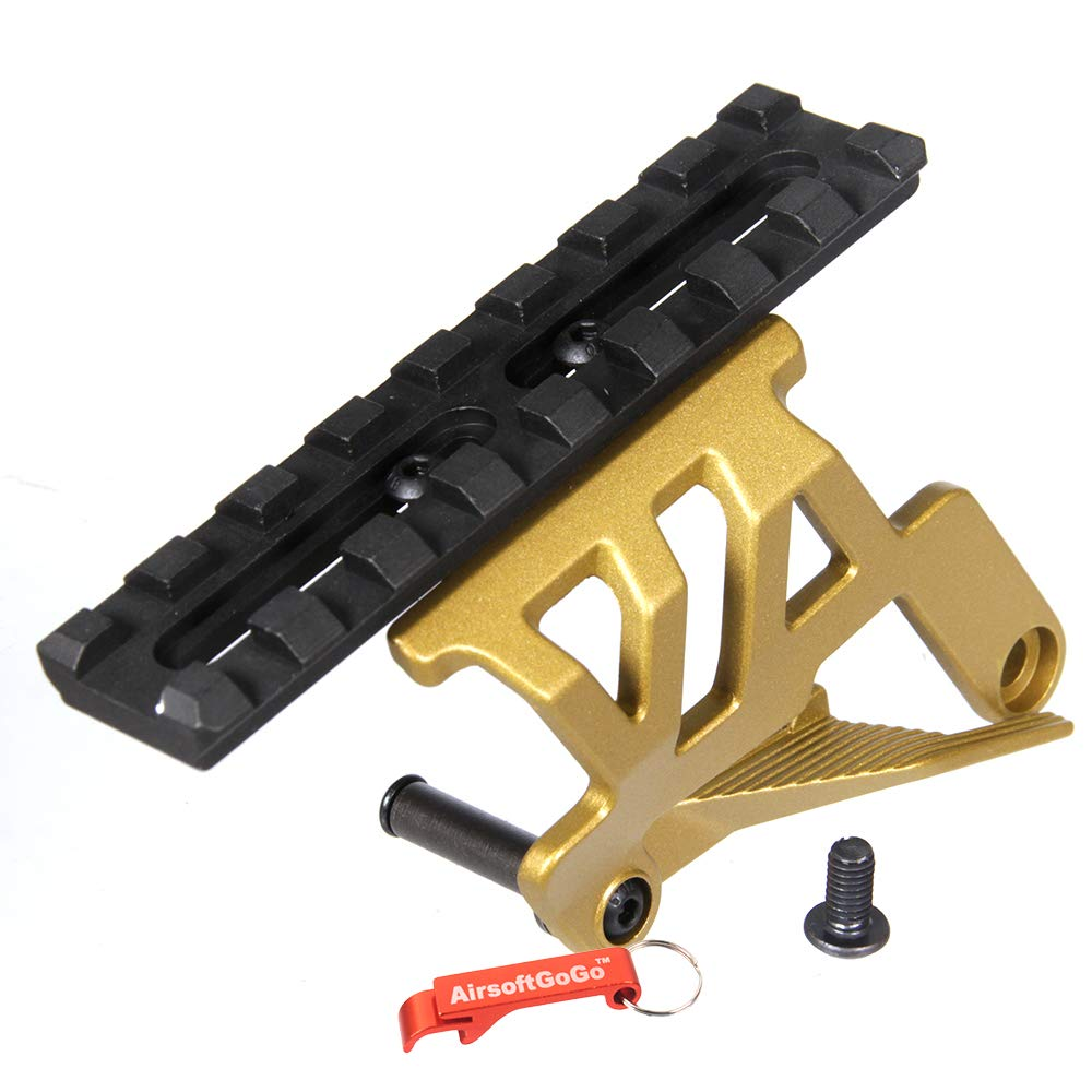 Scope Mount for Tokyo Marui HI-CAPA 5.1/4.3 Series Airsoft GBB (Gold)