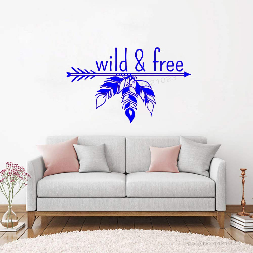 xingbuxin Tatuajes de Pared Wild and Quote vinilos Decorativos ...