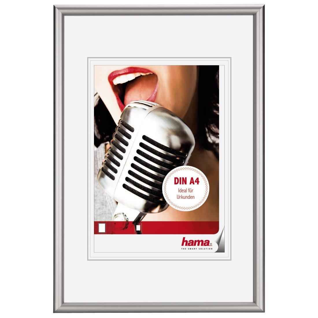 Hama Aluminium-Bilderrahmen Chicago, 21 x 29, 7 cm, bruchsicheres ...