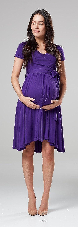 Happy Mama.Vestito pr/émaman per LAllattamento Doppio Strato Manica Corta.598p