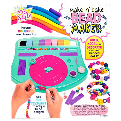 Just My Style Make 'n' Bake Bead Maker by Horizon Group USA (Clay Maker)