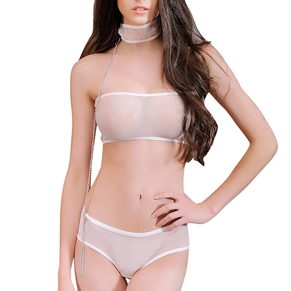 Winwintom 3-Pack Conjunto De LenceríA, Mujeres Sexy Lace Briefs Panties Thongs Ropa Interior Ropa Interior Calzoncillos, Mujer LenceríA Babydoll Ropa De ...