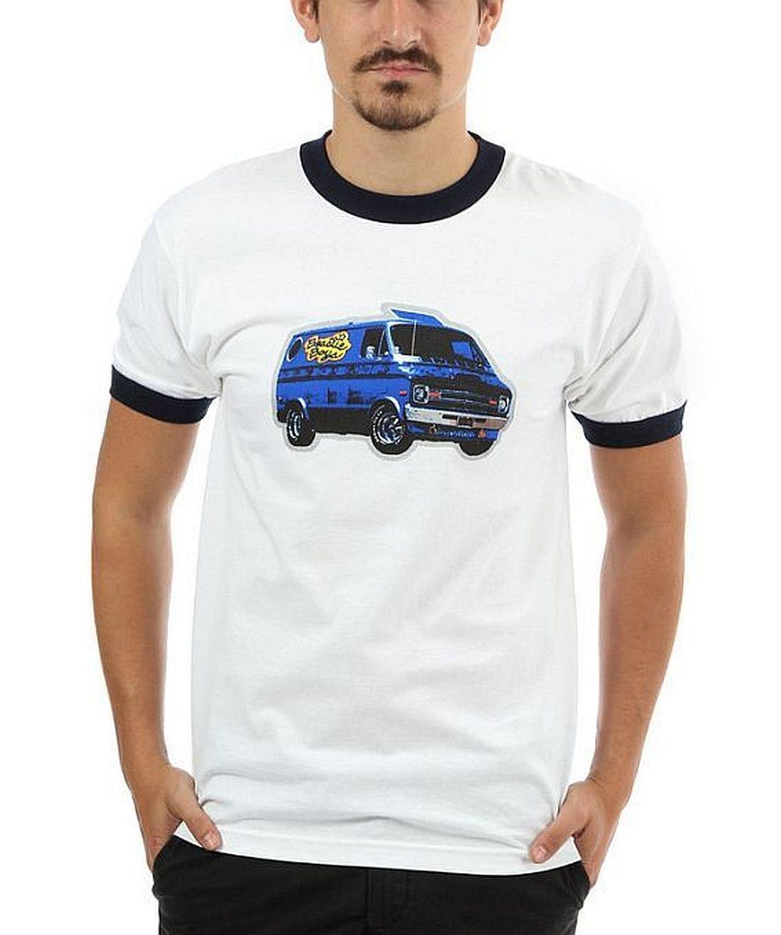 Beastie Boys Van Art Ringer T-Shirt Ill Rock Merch BY244-M