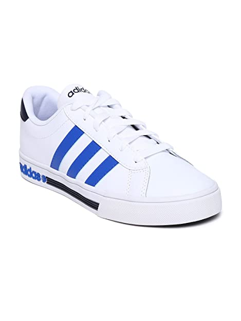 Buy Adidas NEO Men White Daily Team Leather Casual Shoes (6UK) at ...