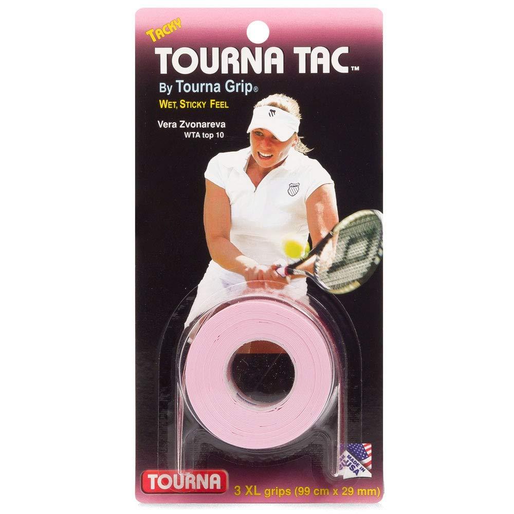 TOURNA Tac XL Overgrip de Tenis (Pack de 3 Grips), Rosa ...