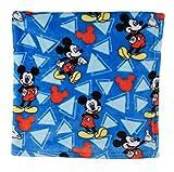 Disney Mickey Mouse Super Soft Fleece Blanket, Blue