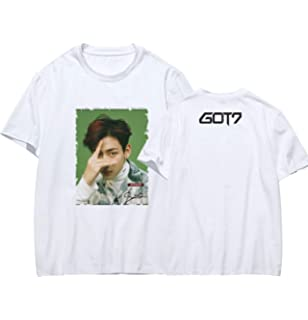 GOT7 Album Eyes ON You Present You Winter Tale Concert Jackson Mark Printing Short Sleeve Tshirts