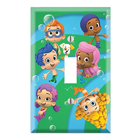 Bubble Guppies Single Toggle Light Switch Decor Wall Plate Cover ...