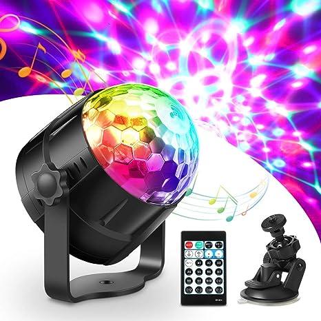 Discokugel LED Kristall Licht-Effekte Disco DJ Party Projektor Magic Ball