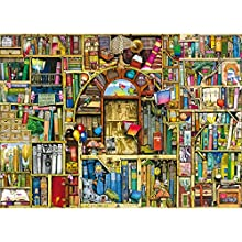 Ravensburger - La Biblioteca extraña 2, Puzzle de 1000 Piezas (19314 1)