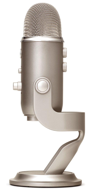 Blue Yeti USB Microphone, Platinum (Renewed) by Blue Microphones (Image #3)