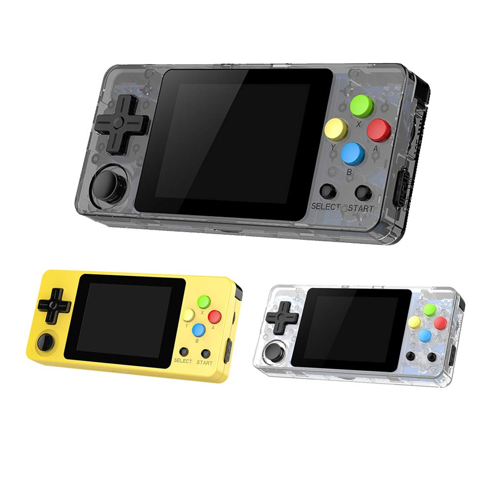 Ocamo Game Console, LDK Second Generation Open Source Version Mini Handheld Family Retro Games Console Transparent Black by Ocamo (Image #4)