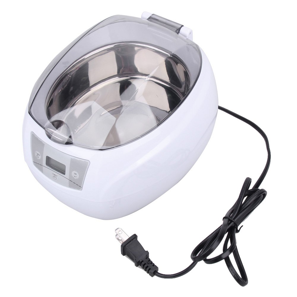Digital Timer Cleaner, Stainless steel Cleaner for Jewelry Watches Ring