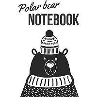 Polar Bear - Notebook: Polar bear gifts for women - Lined notebook/journal/composition book
