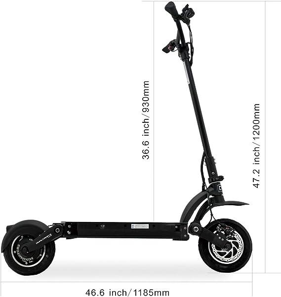 Amazon.com: Dualtron II S Patinete eléctrico, 3600 W de ...