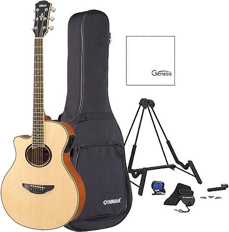 Yamaha apx700iil guitarra electroacústica para zurdos, con funda ...