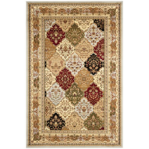 Safavieh Lyndhurst Collection LNH221G Traditional Grey and Multi Area Rug 6 x 9
