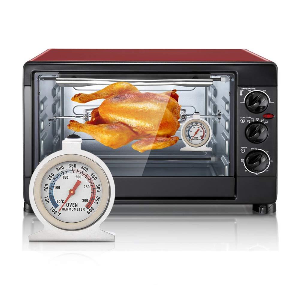term/ómetro del Horno del indicador de la Temperatura de la Comida de pie del Acero Inoxidable para cocinar la hornada InnerSetting Term/ómetro del Horno de la Cocina
