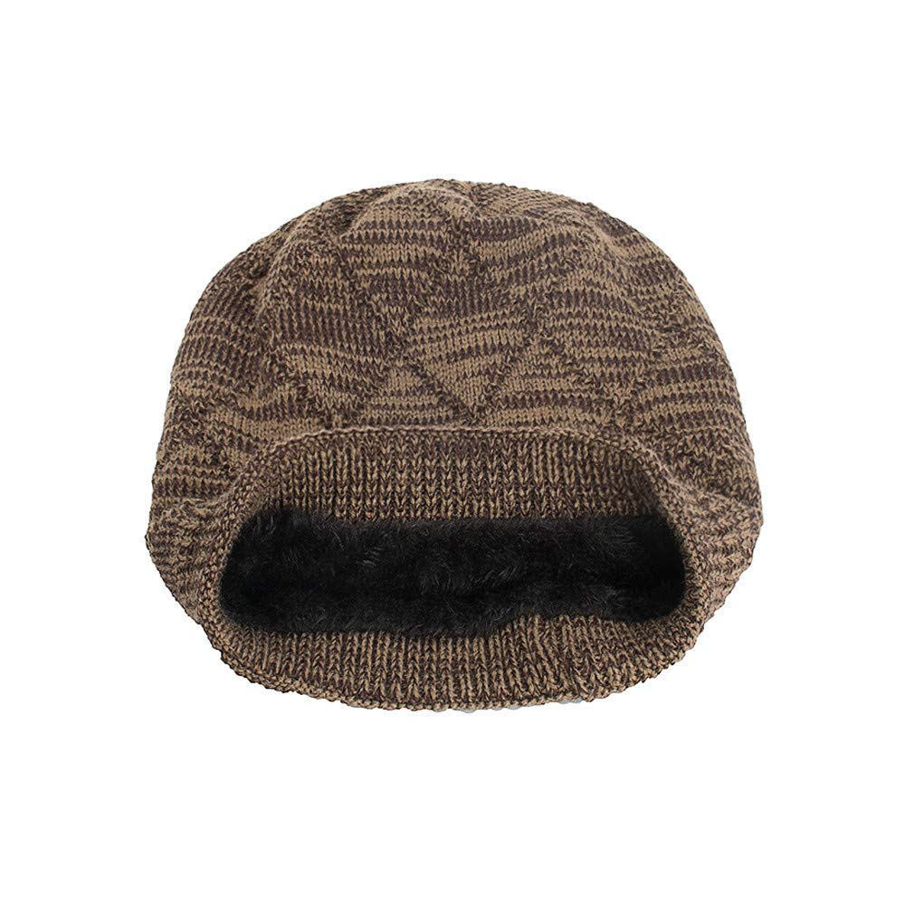 New Knit Beanie for Women & Men Hot Sale DEATU Hats Unisex Warm Winter Wool Knit Cap