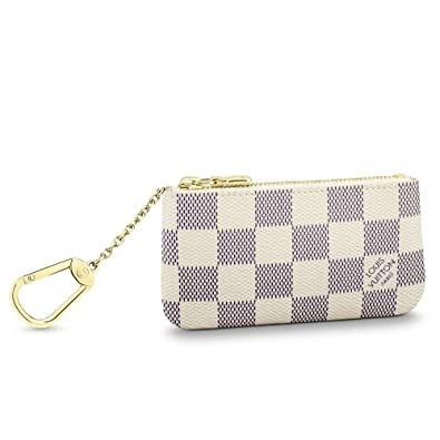 online store 0f99c b9bac Louis Vuitton ルイヴィトン 小銭入れ兼用キーケース ダミエ アズール ポシェット クレ N62659 【並行輸入品】