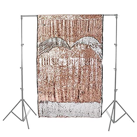 Pixapro Creative Glamour Paillettes Sfondo 26x4m Bianco Avoriooro