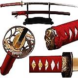 Shijian Carbon Steel Maru Style Real Sharpened Katana Swords Fully Handmade Craft