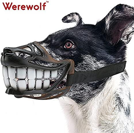 Verstellbarer Maulkorb f/ür Hunde Ente Face Lip M/ütze mit gebogenem bissfest Maulkorb Maske gelb Gr/ö/ße S