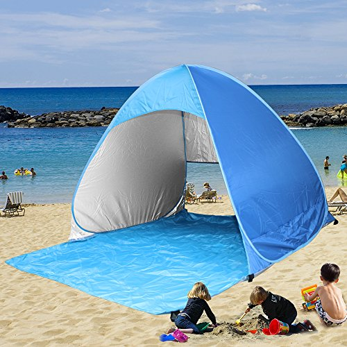 Kany-Portable-Outdoor-Automatic-Pop-Up-Instant-Quick-Cabana-Beach-Tent-Sun-Shelter-Canopy-Sun-Shade-Sport-Shelter-Family-Kids-Baby-Outdoor-Camping-Fishing-Picnic-Hiking