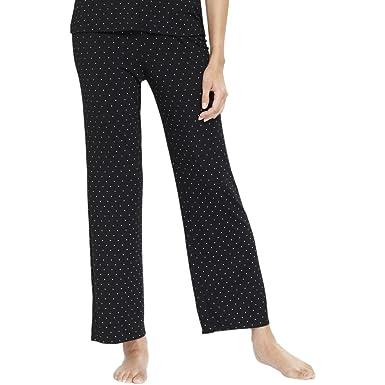 692f50da9db0 Alfani Womens Modal Elastic Long Pajama Bottoms Black 3XL at Amazon ...